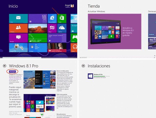 Descargar Windows 8.1 en español y gratis – Versión final: Descarga Windows 8.1