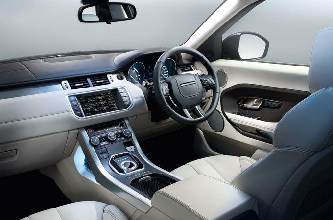 Evoque Prestige, SUV Interior