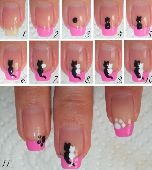 DIY Great Idea For Decorate Your Nails  Cute . http://t.trusper.com/DIY-Great-Idea-For-Decorate-Your-Nails-Cute-/860967