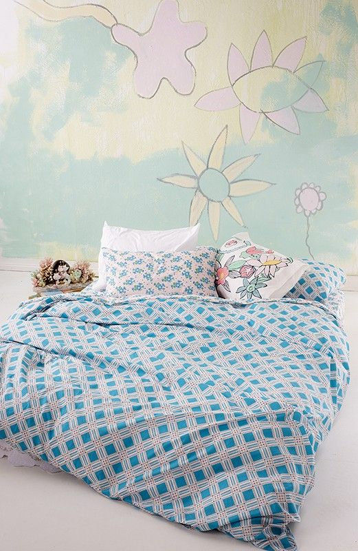 Duvet Cover in Blue Diamond - New Arrivals