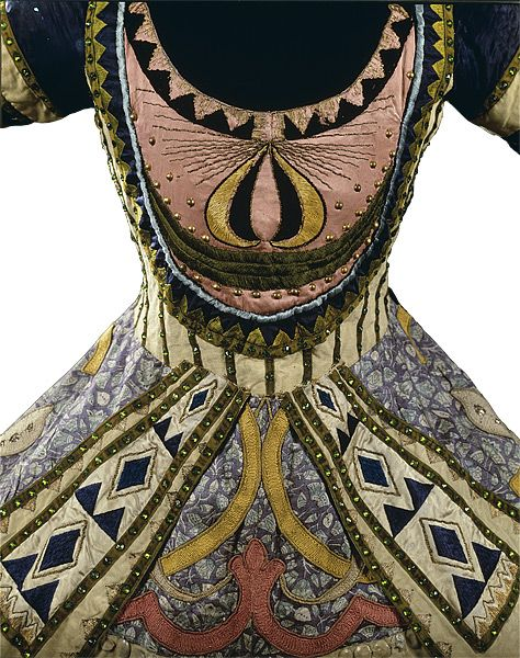 Costume for the Blue God (1912) for the Ballet Russes by Russian artist & costume designer Léon Bakst (1866-1924). via this beadiful world