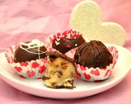 La parte migliore di fare i biscotti, senza la preoccupazione: Cookie tartufi pasta