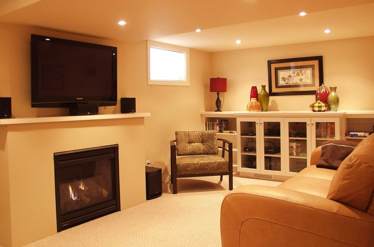Want to remodel your small basement but don't know where to start? Get basement ideas with impressive remodeling #basement