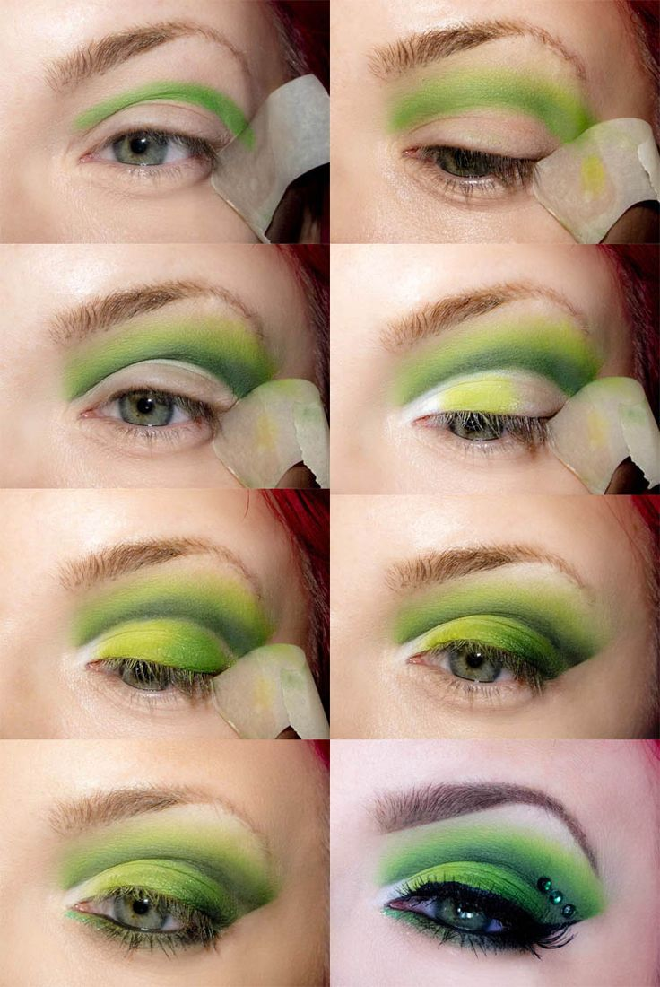 Day Eyeshadow Tutorial: 17 Best Ideas About Poison Ivy Makeup On Pinterest