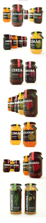 Jam & Preserve / product line by Afonso Arraiano, via Behance