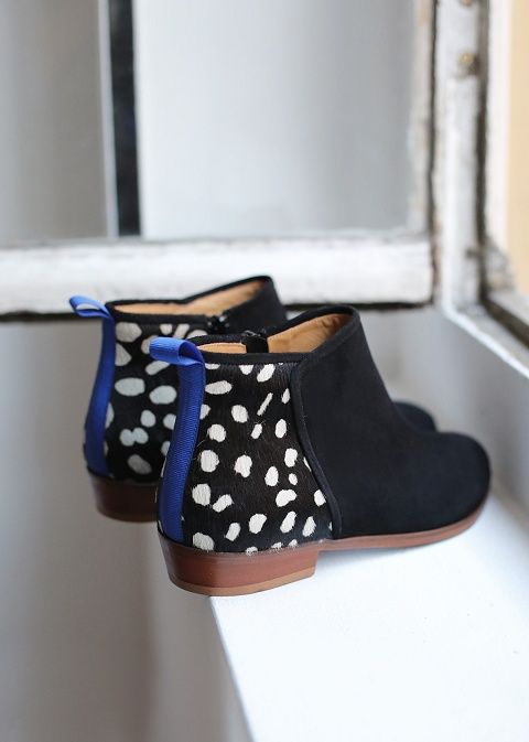 Sézane / Morgane Sézalory - Midnight boots #sezane #midnight