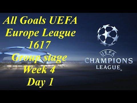 All Goals UEFA Europe League 1617 Group stage week 4 Day 1 0112016 Benfica 1-0 Dynamo Kyiv Mönchengladbach 1-1 Celtic Man. City 3-1 Barcelona Atlético 2-1 Rostov PSV 1-2 Bayern All Goals UEFA Europe League 1617 Group stage week 4 Day 1 0112016 Ludogorets 2-3 Arsenal Basel 1-2 Paris  http://youtu.be/3rCTHmaF-Qg