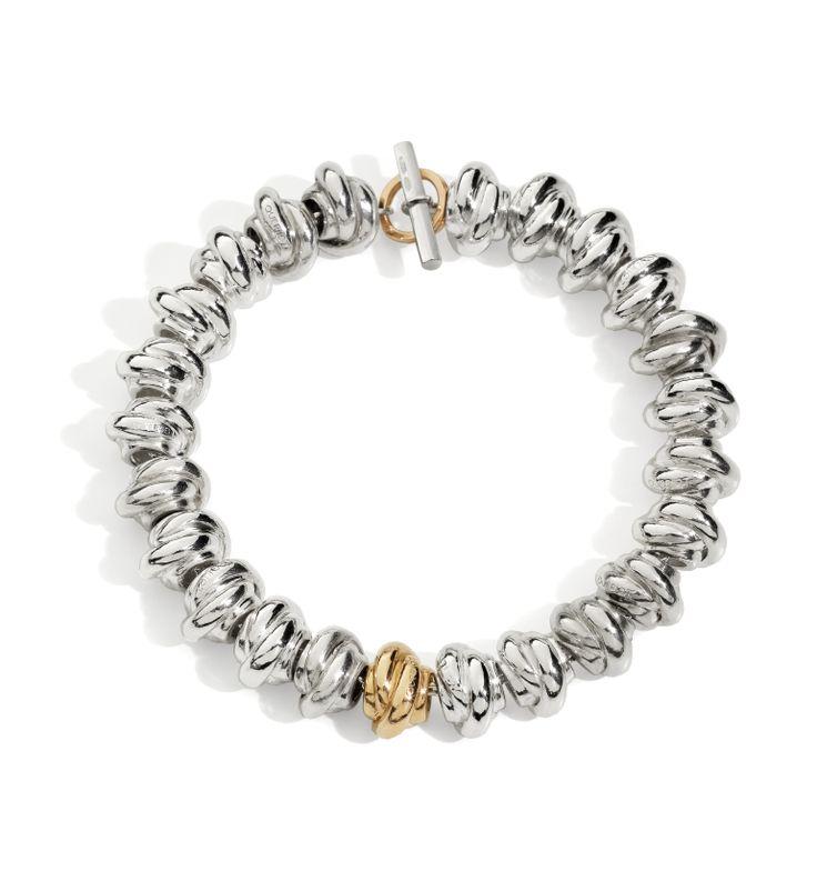 Nodi argento e Nodo oro rosa  bracelet silver gift women gioiello moda fashion jewellery beautiful gold knot queriot