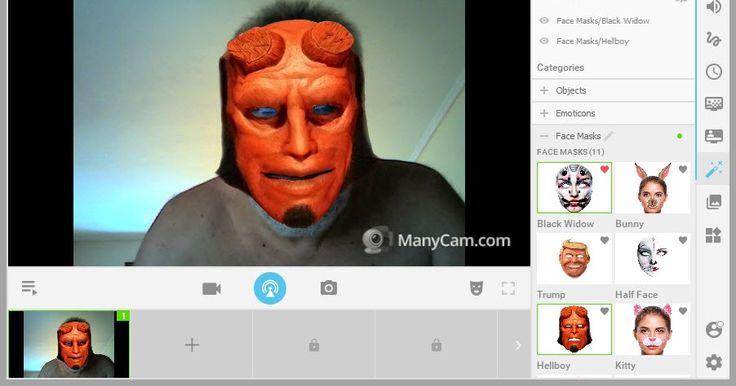 Κάντε την επικοινωνία σας διασκέδαση προσθέτοντας εφέ. Μπορείτε να χρησιμοποιήσετε την κάμερα σας με πολλά προγράμματα ταυτόχρονα όπως το Yahoo! Skype AIM Paltalk και Camfro. Αλλάξτε το πρόσωπό σας τα μάτια τα μαλλιά σαςπροσθέτοντας εκατοντάδες εκπληκτικά εφέ που θα βρείτε διαθέσιμα στην κάμερα σας.  ManyCam 6.0.1  Author's Website: ΛΕΙΤΟΥΡΓΙΚΟ ΣΥΣΤΗΜΑ: Windows Mac OS X