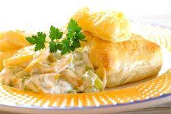 SPAR - Fish Bundles With Leek And Pepper Cream Sauce Recipe