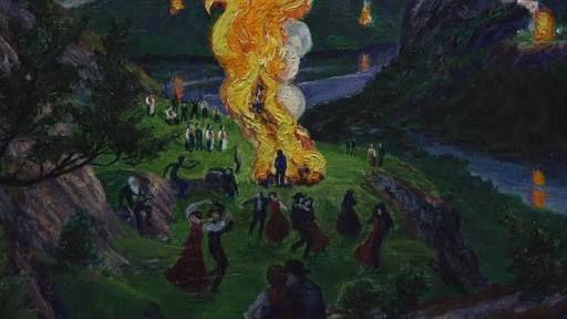 Image result for nikolai astrup bonfires