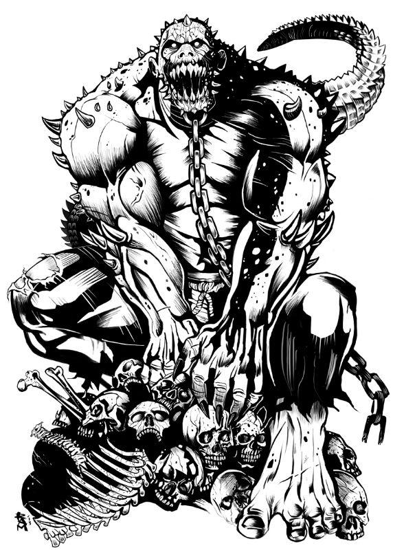 Killer Croc - Ram Artwork