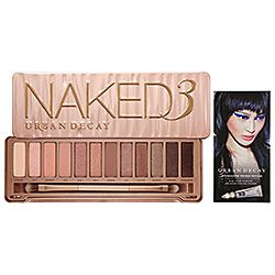 The perfect palette for my rose gold obsession. #UrbanDecay #Naked3  #Sephora