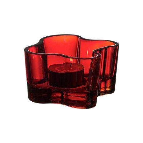 Iittala Alvar Aalto Collection Votive 55 mm Red, Blue, Green