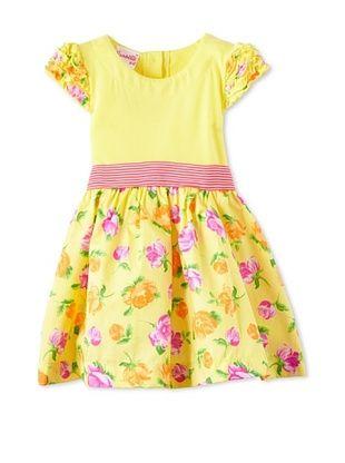 53% OFF Nannette Girl's 2-6X Rose Dress (Yellow)