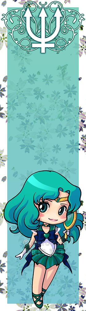 Sailor Neptune bookmark by Marc-G on DeviantArt
