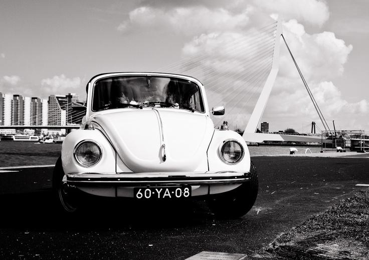 Trouwauto witte Kever Cabrio | Molenaar Trouwauto's » Trouw in een unieke goedkope klassieker!