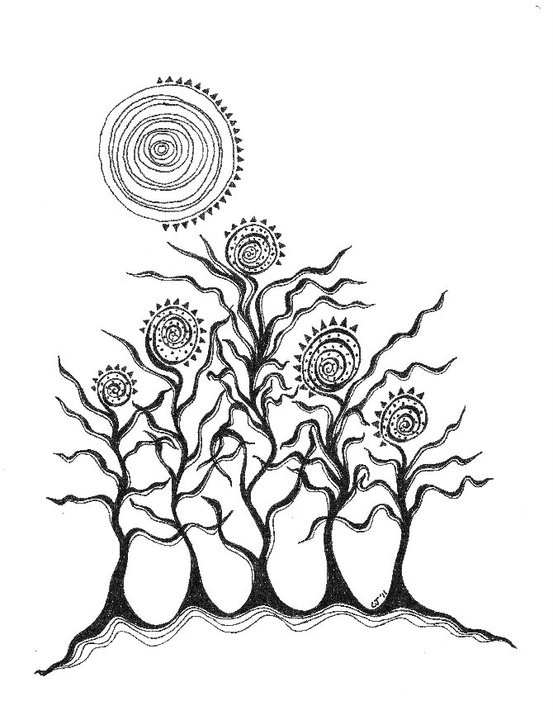 zentangle tree auto electrical wiring diagram37 best dip pen drawing images on pinterest