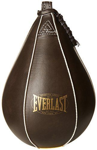 Everlast leather #speed bag boxing #punch bag mma kickboxing ##punching equipment, View more on the LINK: http://www.zeppy.io/product/gb/2/122333424044/