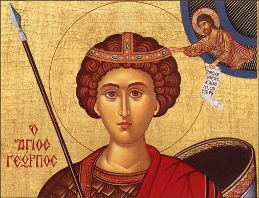 Sfantul Mare Mucenic Gheorghe, purtatorul de biruinta, este praznuit in Biserica Ortodoxa, la 23 aprilie, ca unul dintre cei mai mari sfinti martiri