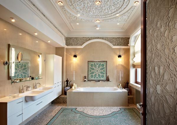 33 best images about modern arabic design on pinterest dubai luxury hotels and mediterranean - Luxury bathroom designs with stunning interior ...