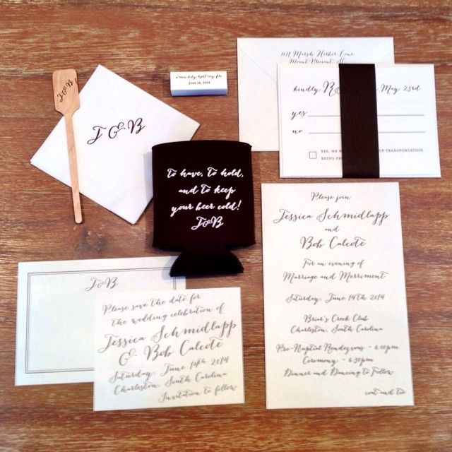 So many wedding wishes today! To start, happy wedding day to Jessica and Bob! It is a gorgeous day to be tying the knot  xoxo #love #weddingday #stationery