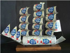 446 best soda can ideas images on pinterest recycling for Aluminum can crafts patterns