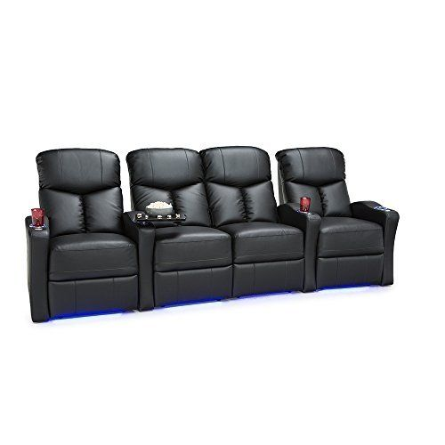 The Seatcraft Raleigh is a space saver home theater seating chair furnished with cradling style backrest and overstuffed headrests for a better viewing experience. This chair comes in leather gel, a material which has the feel of high-end leather but at an affordable price. The armrests are... more details available at https://furniture.bestselleroutlets.com/game-recreation-room-furniture/tv-media-furniture/home-theater-seating/product-review-for-seatcraft-raleigh-home-theate