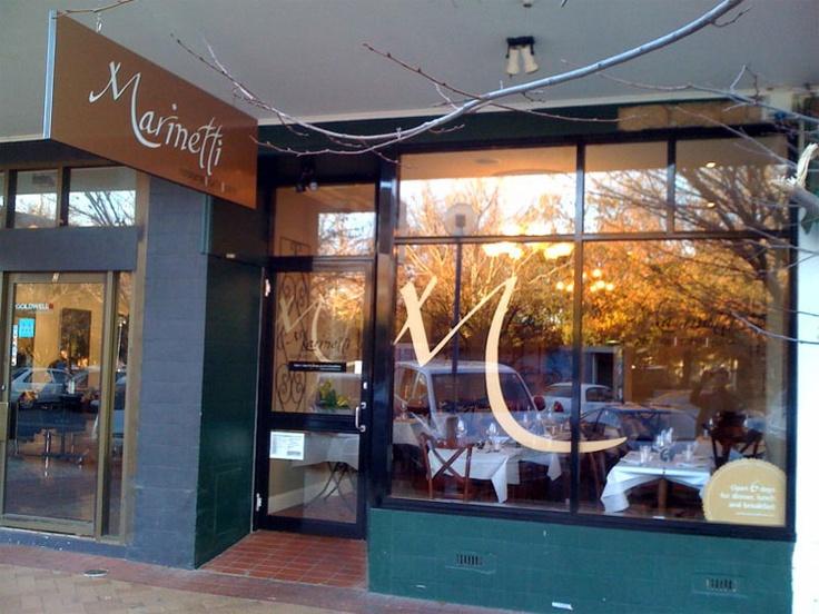 Marinetti - signage design & development