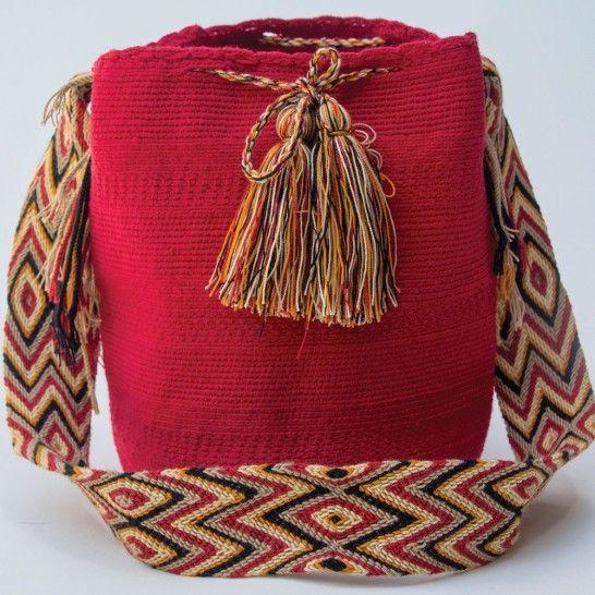 Wayuu mochila 853 Unicas en moflys.com!!