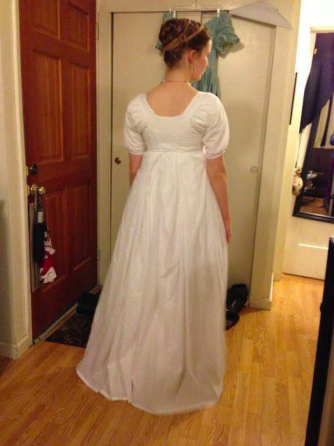 Frolicking Frocks: Regency Muslin Dress 1798-1804