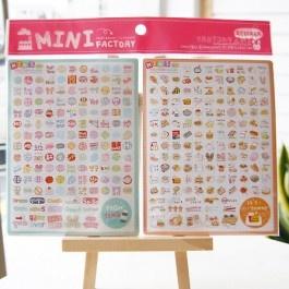 Mini factory  Sticker  SD_046