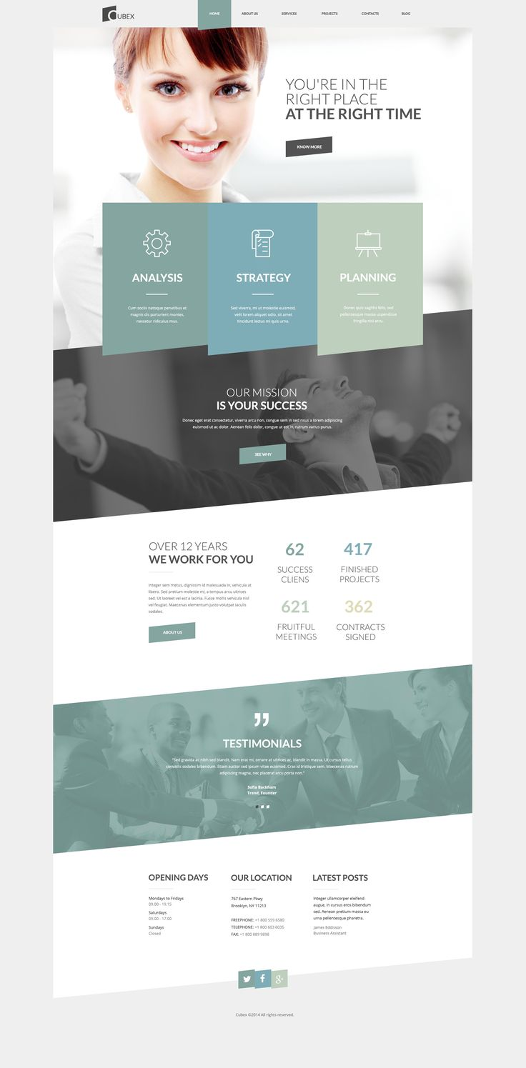 #web #website #webdesign more on html5themes.org