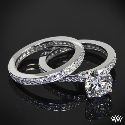 Eternal Brilliance Awaits With The Channel Bead Set Diamond Wedding