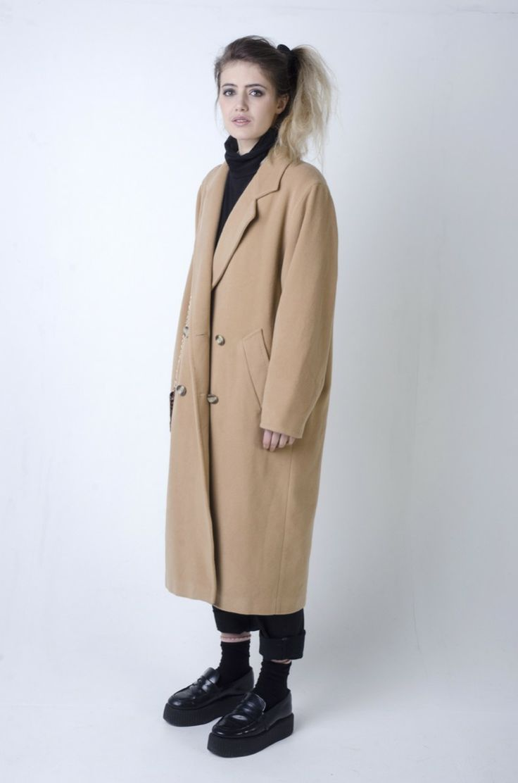 #Vintage #Camel #Overcoat