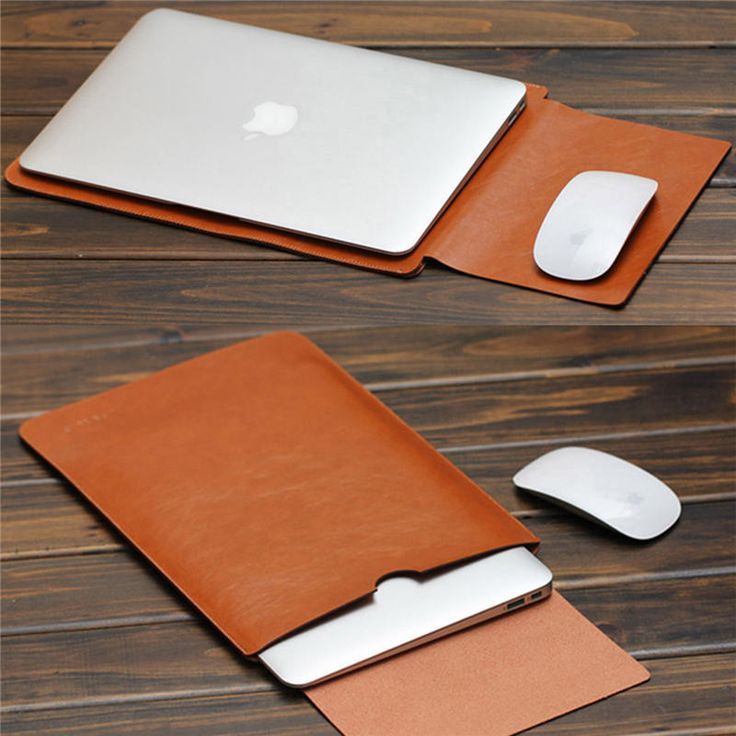 "2016 PU Leather For MacBook Air Pro Retina 11 12 13 15"" inch Laptop Bag Case Sleeve Notebook Carry Bag For Macbook Case Pouch"