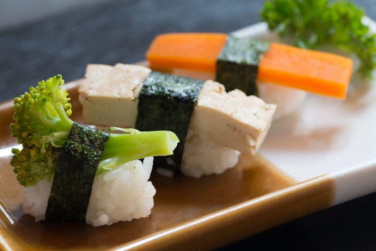 Quer saber onde encontrar comida japonesa vegetariana? Clique na imagem e veja lista da Hashitag