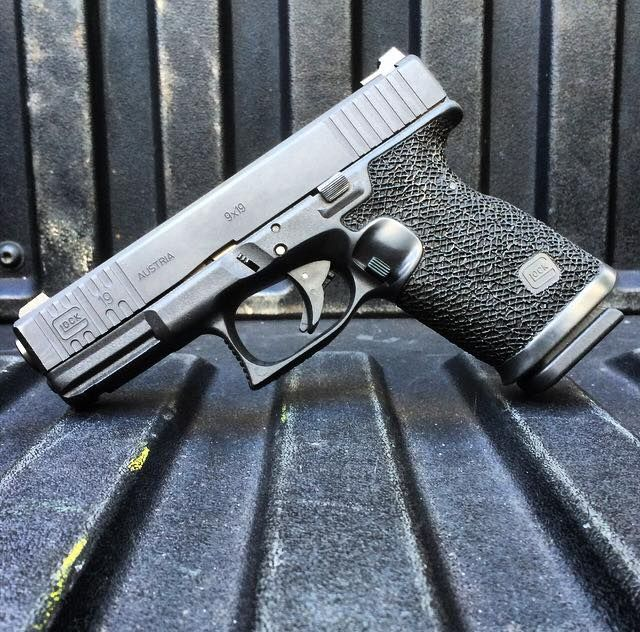 Glock 19 9mm handgun modified by Boresight Solutions in Miami, Florida. These are great guns made better by a craftsman. Boresight has amazing attention to detail, and I will have them customize a pistol or two for me. The grip angle is modified to...