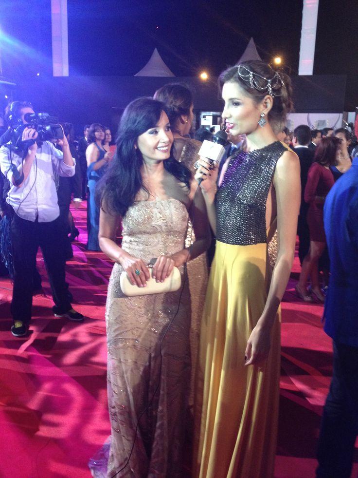 Noche de gala Premios TV y Novelas - Xilena Aycardi