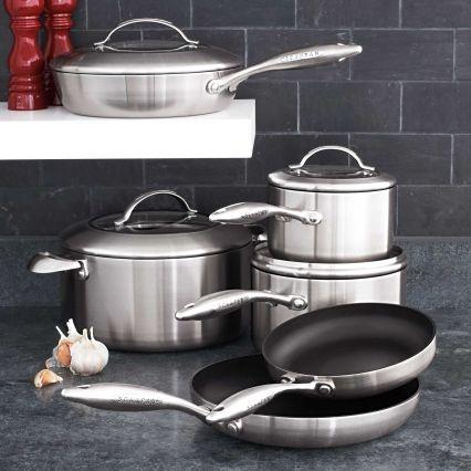 Scanpan® CTX 10 Piece Nonstick Cookware Set | Sur La Table