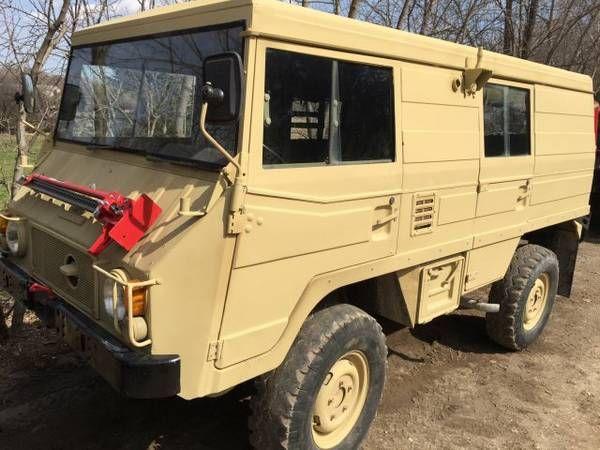 1983 Steyr-Puch Pinzgauer 710K w/ front mounted jack