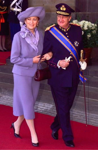 King Albert and Queen Paula of Belgium