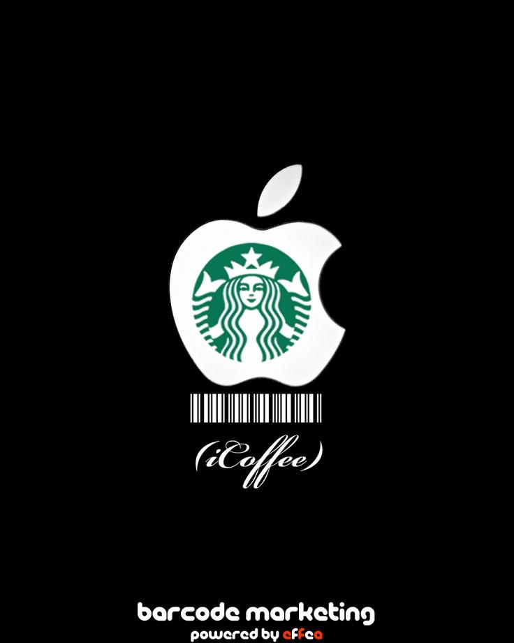 "Barcode Apple/Starbucks ""iCoffee"""