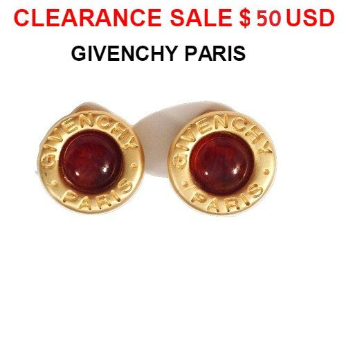 CLEARANCE SALE Givenchy Earrings  Authentic Signed by MODELUNA76