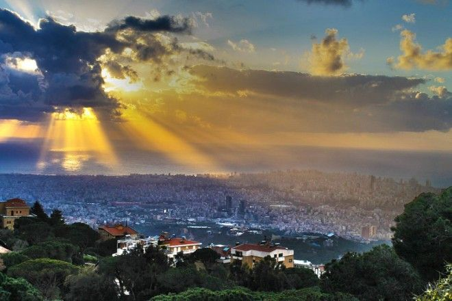 Clouds over Beirut, Lebanon | 1,000,000 Places