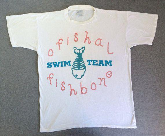 FISHBONE Tshirt 1993 Vintage/ Original OFISHAL by sweetVTGtshirt