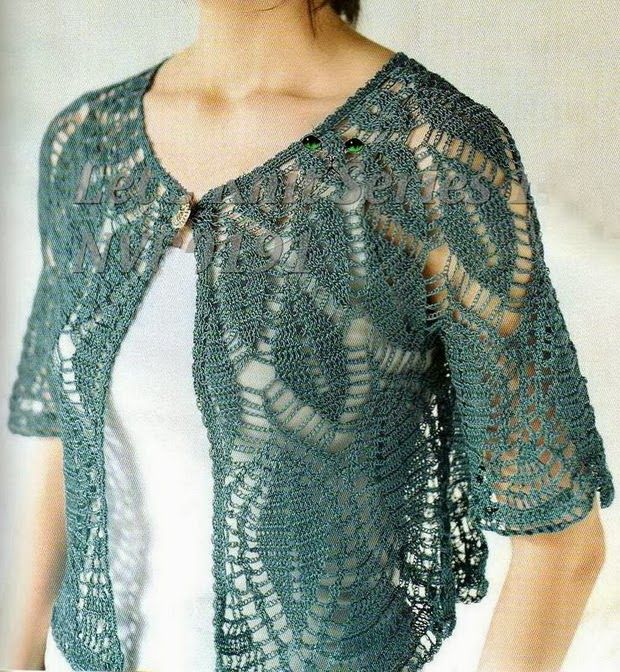 Gorgeous Women's Sweater        The clear pattern of this Lace Sweater + other 20 gorgeous designs are in:       More …