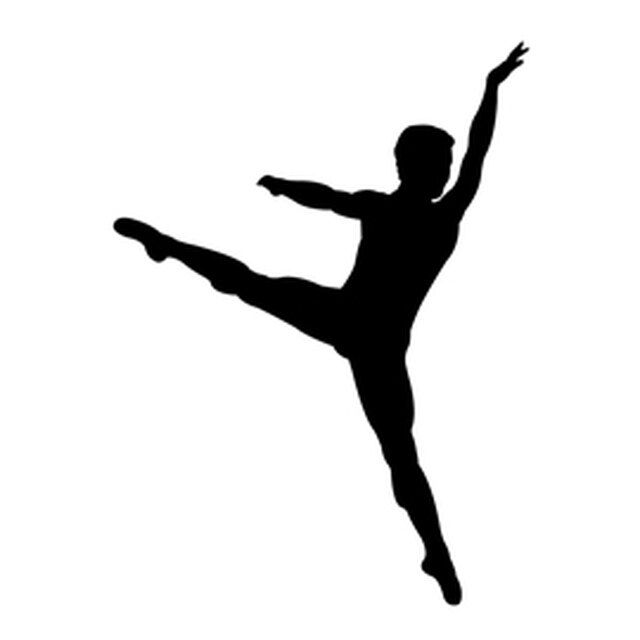 Reusable Stencils Ballet Dancer Ballerina Silhouette Stencil Dancer Silhouette Dancer Painting