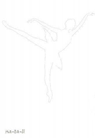 Creative Ideas - DIY Beautiful Snowflake Ballerinas from Templates 4