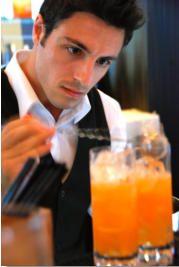 hire a cocktail barman Belfast